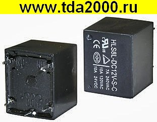 реле T73 12VDC (833H) 10A