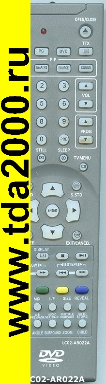 Пульты Пульт Rolsen LC02-AR022 A [tv/dvd]