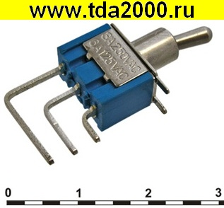 Тумблер Тумблер микро MTS-102-C4 on-on