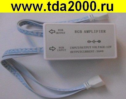 блок питания для светодиодов Усилитель для контроллера RGB для ленты 6 каналов(бегущая волна) .