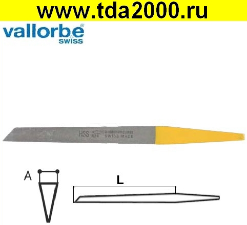 Штихель Штихель Vallorbe Messer LO-0406- 18 HSS